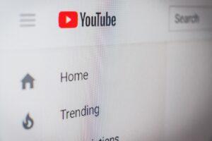 Youtube application screengrab